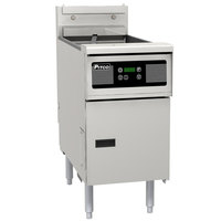 Pitco SE148-D Solstice 60 lb. Electric Floor Fryer with Digital Controls - 240V, 1 Phase, 17kW