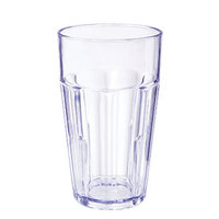 GET 9920-1-BL 20 oz. Blue Break-Resistant Plastic Bahama Tumbler - 72/Case