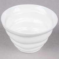 10 Strawberry Street P4303 Izabel Lam Ripples 6 oz. White Porcelain Sorbet Cup - 72 / Case