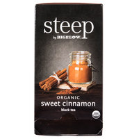 Steep By Bigelow Organic Sweet Cinnamon Black Tea - 20 / Box