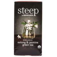 Steep By Bigelow Organic Oolong and Jasmine Green Tea - 20/Box
