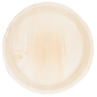 TreeVive by EcoChoice 12 inch Round Deep Palm Leaf Plate - 100/Case