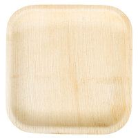EcoChoice 10 inch Square Palm Leaf Plate - 100 / Case