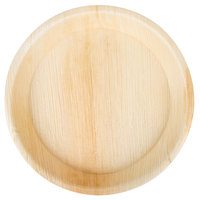 """TreeVive by EcoChoice 10"""" Round Deep Palm Leaf Plate   - 100/Case"""