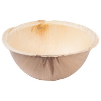 TreeVive by EcoChoice 6 inch Round Palm Leaf Bowl   - 100/Case