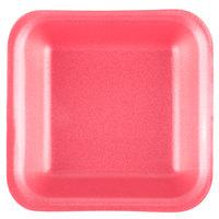 Genpak 1001 (#1) Rose 5 1/4 inch x 5 1/4 inch x 1 inch Foam Supermarket Tray - 1000/Case