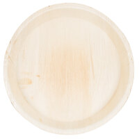 EcoChoice 12 inch Round Deep Palm Leaf Plate - 25 / Pack