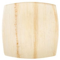 EcoChoice 8 inch Square Coupe Palm Leaf Plate   - 25/Pack
