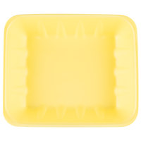 Genpak 1022K (#22K) Yellow 12 1/4 inch x 10 1/4 inch x 2 7/8 inch Foam Supermarket Tray - 100 / Case