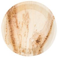 EcoChoice 8 inch Round Deep Palm Leaf Plate - 25/Pack
