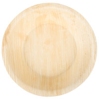 EcoChoice 6 inch Round Deep Palm Leaf Plate - 25/Pack
