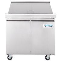 Avantco SCLM2-36 36 inch Mega Top Sandwich / Salad Prep Refrigerator - 9 Cu. Ft.