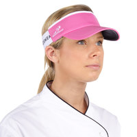 Hot Pink Headsweats Customizable 7703-269 CoolMax Chef Visor