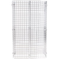 Regency NSF Chrome Wire Security Cage - 18 inch x 36 inch x 61 inch
