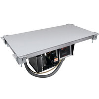 Hatco CSU-36-I Aluminum Built-In Undermount Cold Shelf - 36 inch x 19 1/2 inch