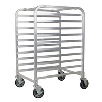 Channel AXD-UTR-9 9 Pan Heavy-Duty Aluminum Steam Table / Bun Pan Rack - Assembled