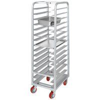 Channel AXD-UTR-20 20 Pan Heavy-Duty Aluminum Steam Table / Bun Pan Rack - Assembled
