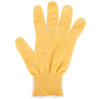 San Jamar SG10-Y-S Yellow Cut Resistant Glove with Dyneema - Small