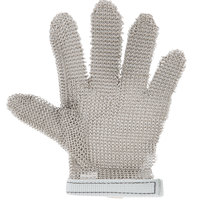 San Jamar MGA515XS Stainless Steel Mesh Cut Resistant Glove - Extra-Small