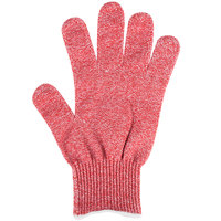 San Jamar SG10-RD-L Red Cut Resistant Glove with Dyneema - Large