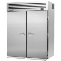 Turbo Air PRO-50R-RI 67 inch Premiere Pro Series Two Section Solid Door Roll-In Refrigerator - 81 Cu. Ft.