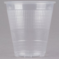 Choice 3.5 oz. Translucent Thin Wall Plastic Cold Cup - 100 / Pack