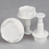 Ateco 1950 3-Piece Flower Plastic Plunger Cutter Set (August Thomsen)
