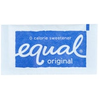 Equal 1 Gram Sugar Substitute Packets - 2000 / Case