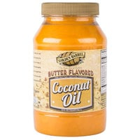 Golden Barrel 32 oz. Butter Flavored Coconut Oil - 12/Case