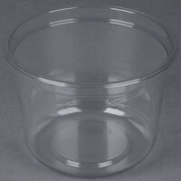 Genpak SC032 32 oz. Clear Round Deli Container   - 300/Case