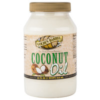 Golden Barrel 32 oz. White Coconut Oil - 12/Case