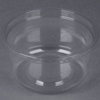 Genpak SC025 25 oz. Clear Round Deli Container   - 300/Case