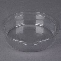Genpak SC010 10 oz. Clear Round Deli Container   - 300/Case