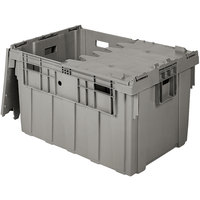 Eastern Tabletop 0102 Stack N' Store 27 1/4 inch x 17 inch x 12 1/2 inch Gray Chafer Box
