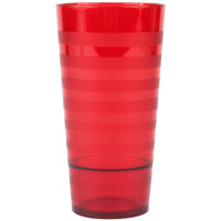 GET SW-1520-R Orbis 20 oz. Red SAN Plastic Tumbler - 24/Case