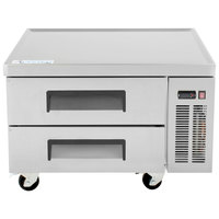 Avantco CBE-36 36 inch 2 Drawer Refrigerated Chef Base