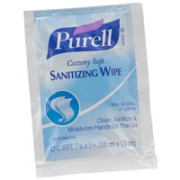 Purell® 9026-1M Cottony Soft Sanitizing Wipes - 1000/Case
