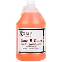 1 Gallon Noble Chemical Lime-B-Gone Delimer / Descaler - Ecolab® 12021 Alternative - 4 / Case