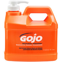GOJO® 0948-04 1/2 Gallon Natural Orange Smooth Hand Cleaner - 4 / Case
