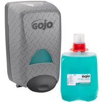 GOJO® 5268-D2 DPX Eco Soy 2000 mL Hand Cleaner Dispenser Kit