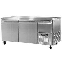 Continental Refrigerator CRA68 68 inch Extra-Deep Undercounter Refrigerator - 22 cu. ft.