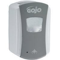 GOJO® 1384-04 LTX-7 700 mL Gray Touchless Hand Soap Dispenser - 4 / Case