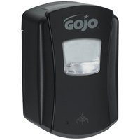 GOJO® 1386-04 LTX-7 700 mL Black Touchless Hand Soap Dispenser - 4 / Case