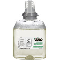 GOJO® 5665-02 TFX 1200 mL Green Certified Foam Hand Soap - 2 / Case