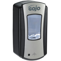 GOJO® 1919-04 LTX-12 1200 mL Chrome Touchless Hand Soap Dispenser