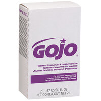 GOJO® 2204-04 NXT Premium 2000 mL White Spring Rain Lotion Hand Soap - 4/Case