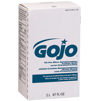 GOJO® 2212-04 NXT Ultra Mild 2000 mL Floral Antimicrobial Lotion Hand Soap with PCMX - 4/Case