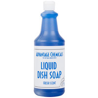 Advantage Chemicals 32 oz. Liquid Dish Soap - 12/Case