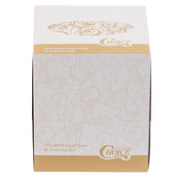 Choice 2-Ply Facial Tissue Cube - 36/Case