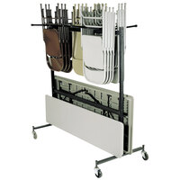 National Public Seating 42-8 Folding Chair / Table Storage Truck